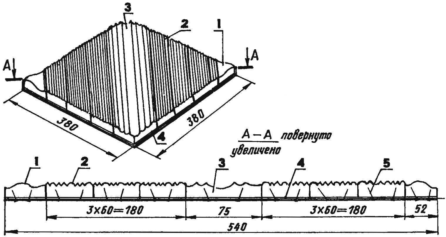 Монтаж элементов розетки на фанерной основе