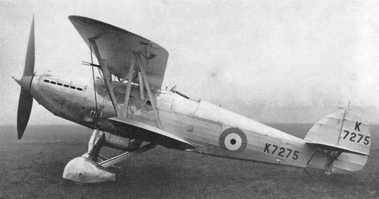 Истребитель FURY II