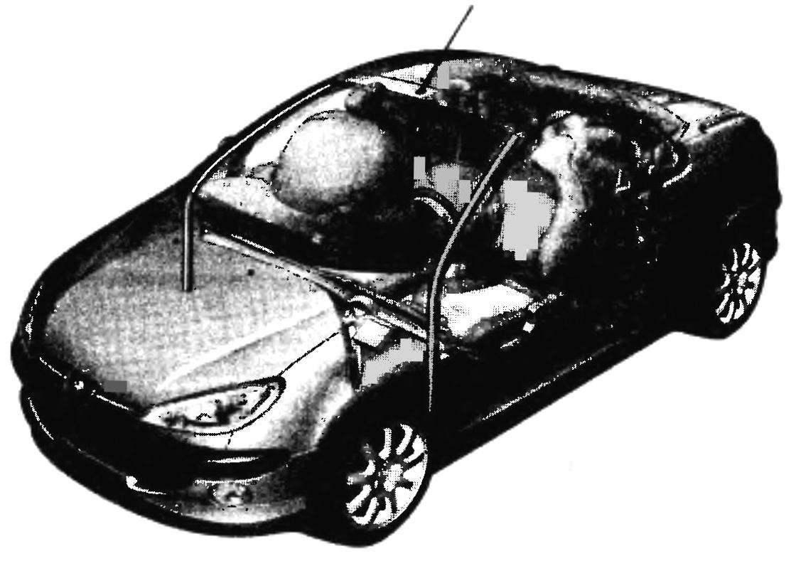 Дополнительные детали-усилители кузова PEUGEOT 206СС