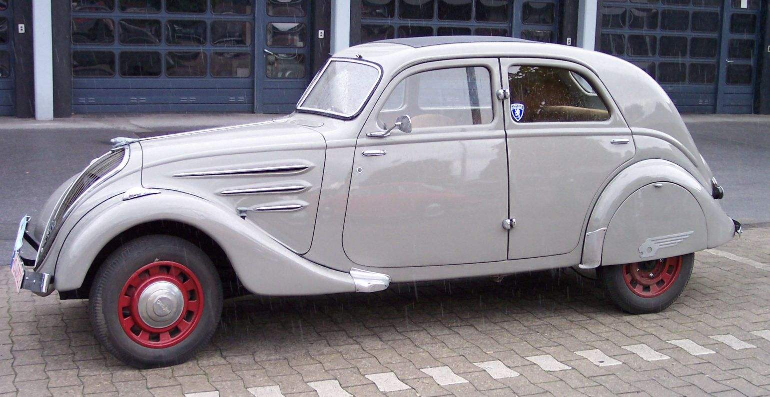PEUGEOT 402 release 1936 first