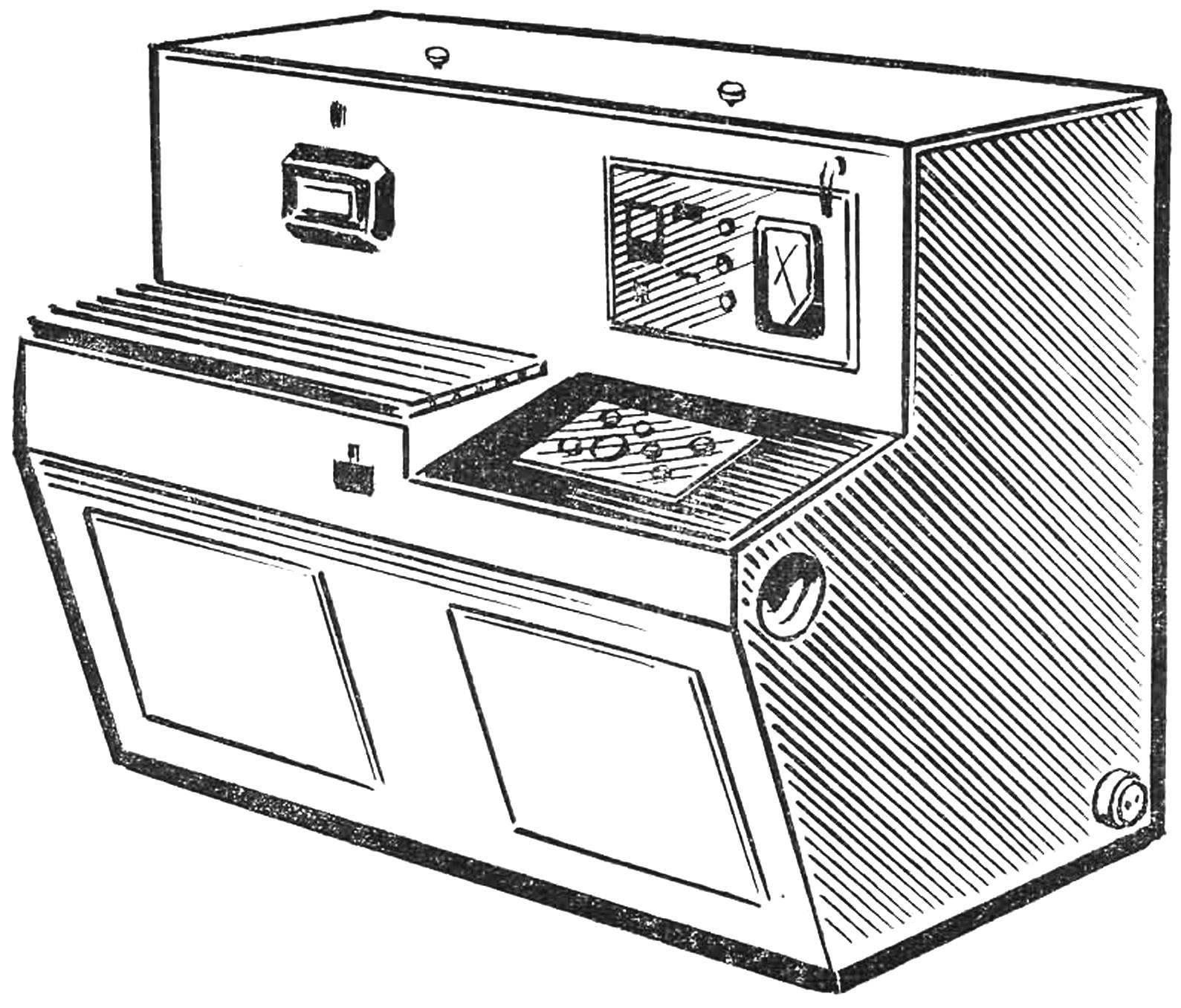 Рис. 4. Магнитно-импульсная установка МИУ,