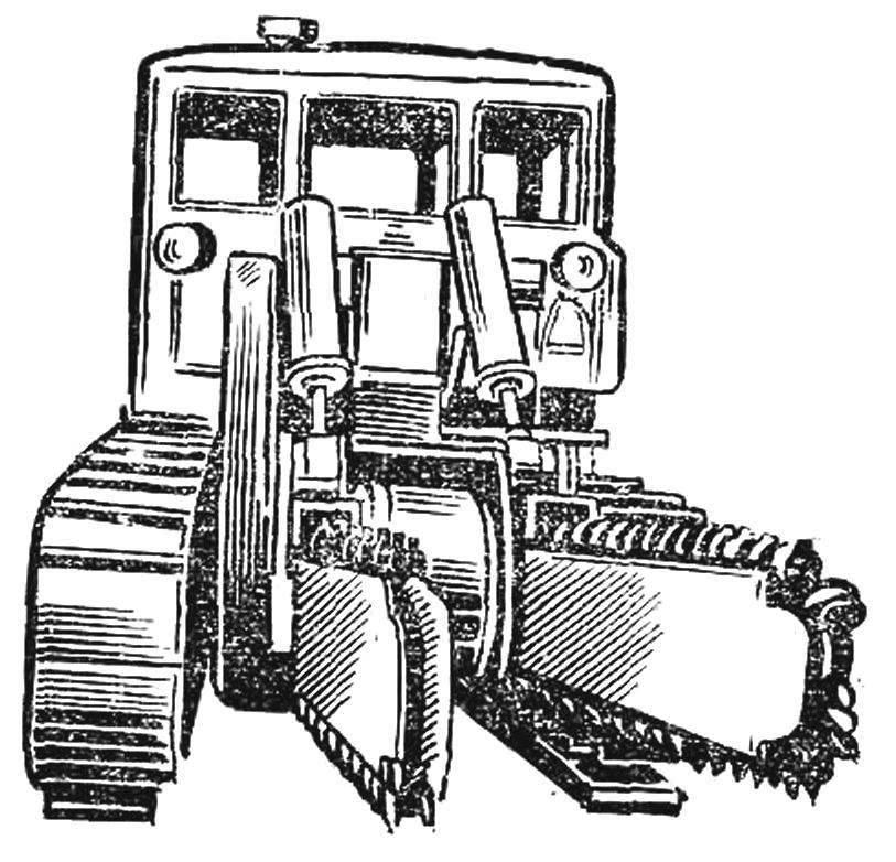 Рис. 6. Двухбаровая машина.