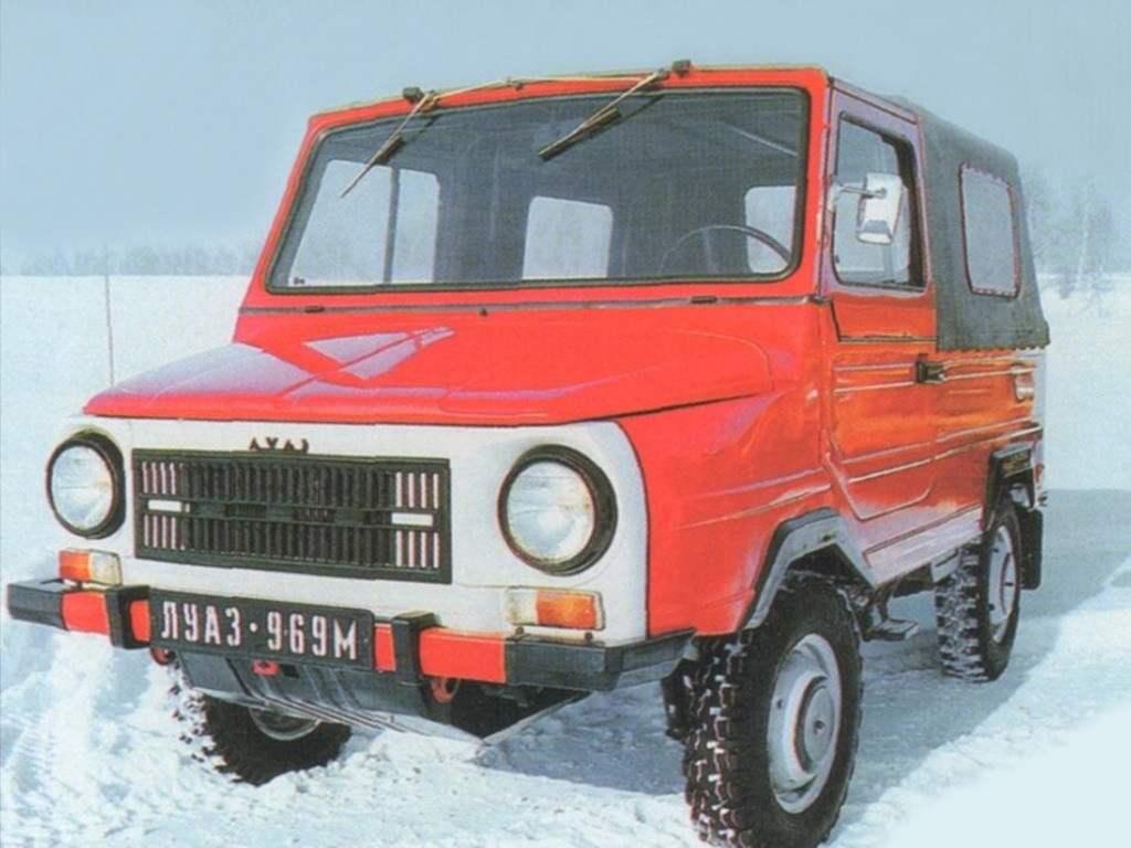 Сельский внедорожник ЛyA3-969M на базе агрегатов автомобиля «Запорожец» (1979 г.)