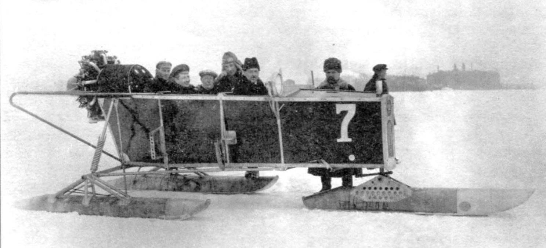 Аэросани НРБ-IV в пробеге 1926 г.