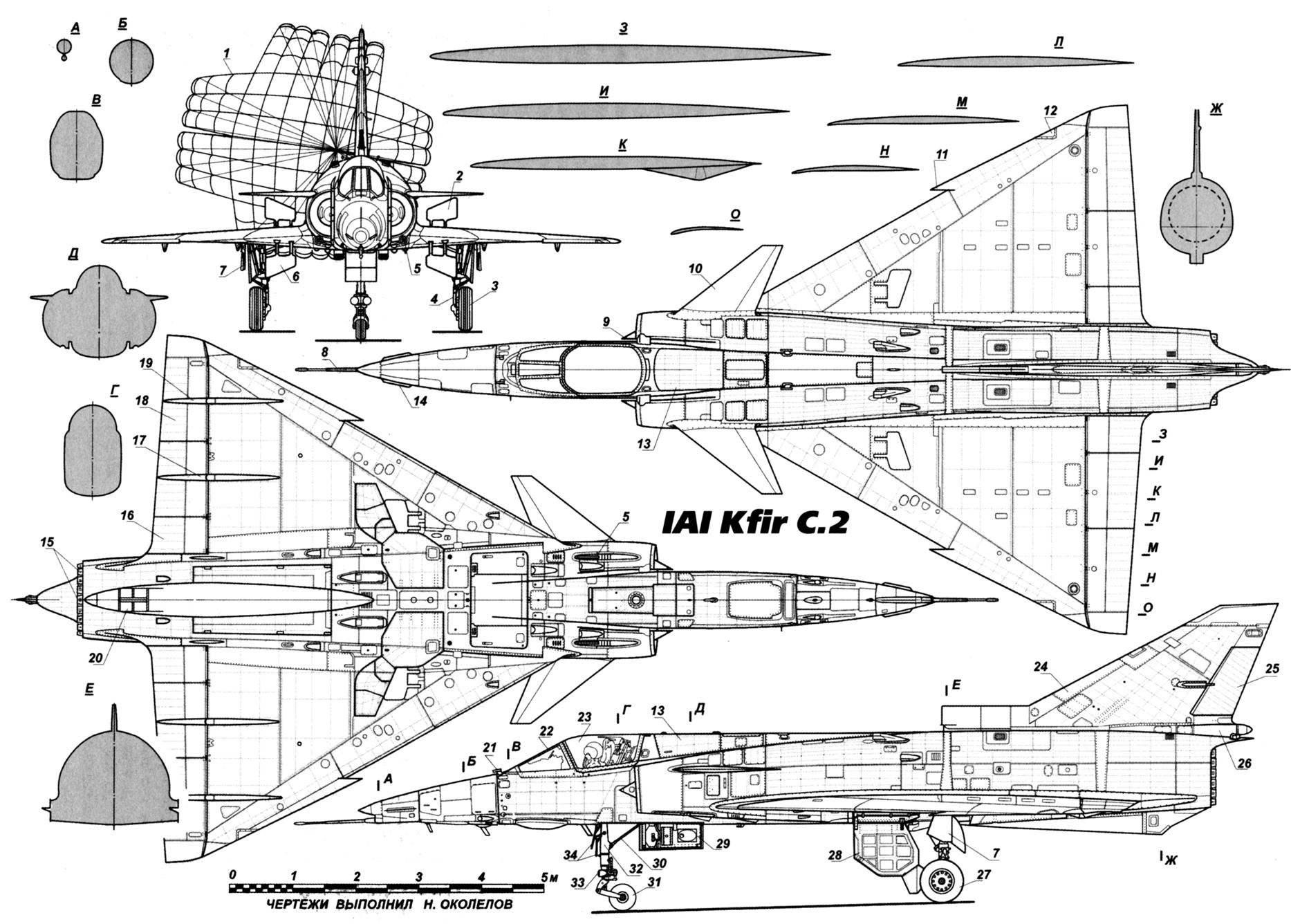 Истребитель «Кфир»