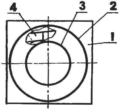 Рис. 1. Формирование тороидального магнитопровода