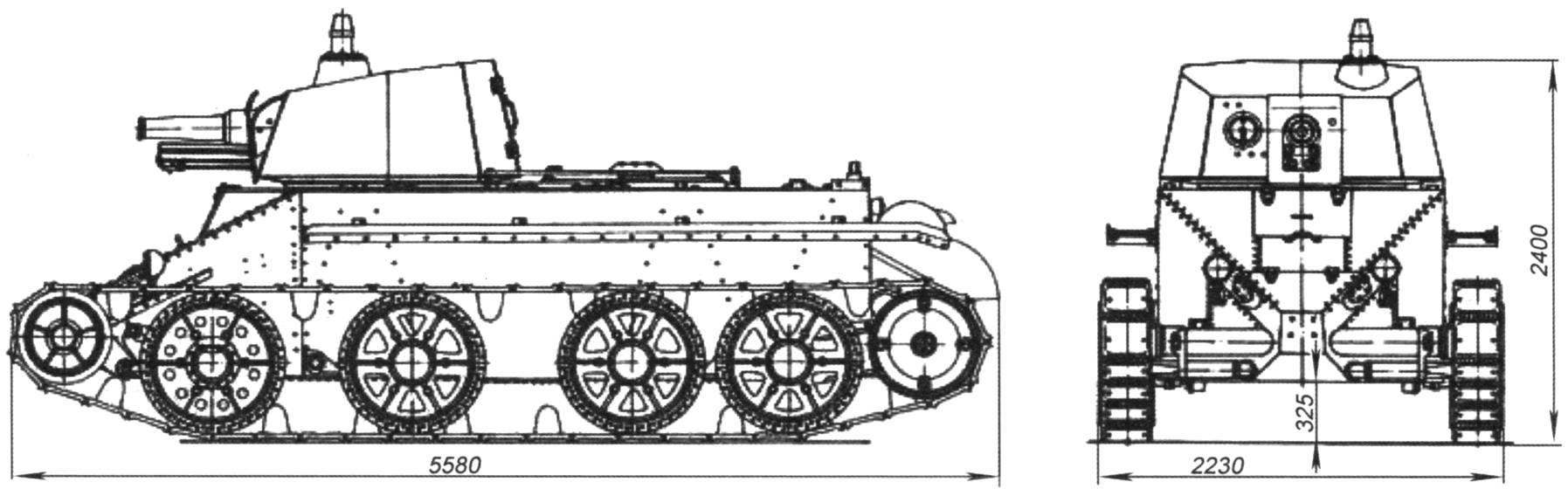 Tank Dyrenkova D-38