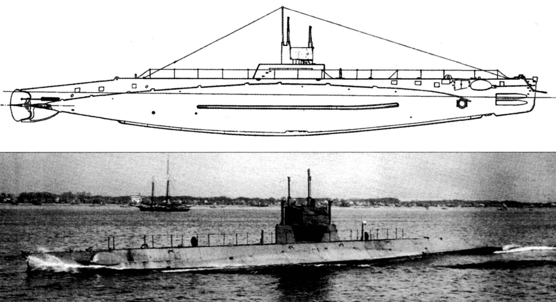 Подводная лодка «L-11» (SS-51) типа «L», США, 1915 г.