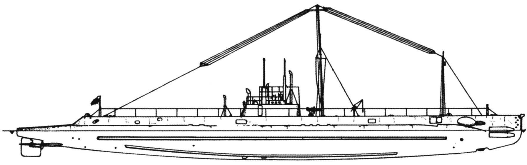 Подводная лодка «М-1» (SS-47), США, 1916 г.