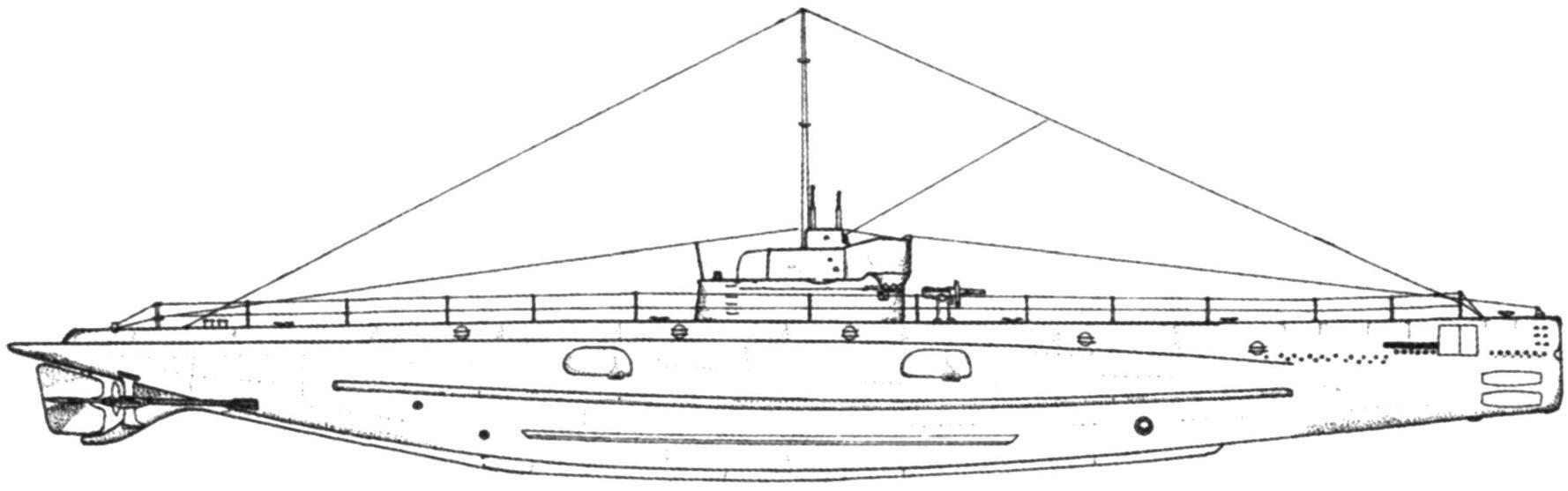 Подводная лодка «O-12» (SS-73), США, 1918 г.