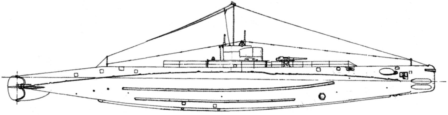 Подводная лодка «R-1» (SS-78) типа «R», США, 1919 г.