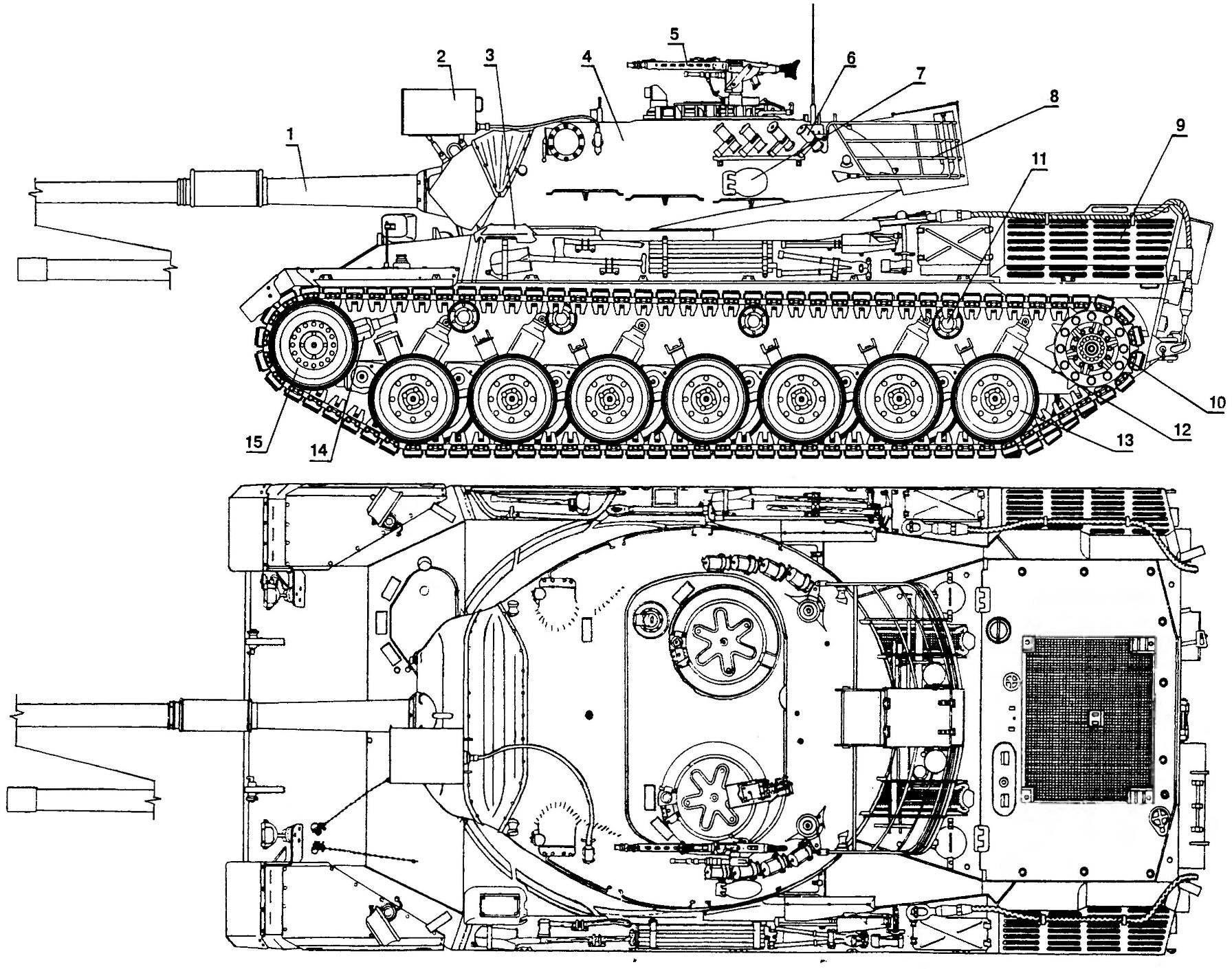 Основной танк «Леопард 1»