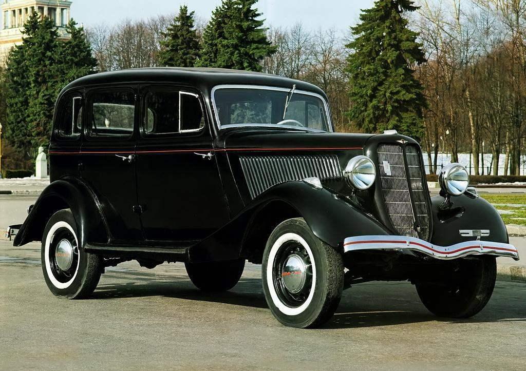Знаменитая «эмка» Горьковского автозавода — ГАЗ-М1 выпуска 1936 года