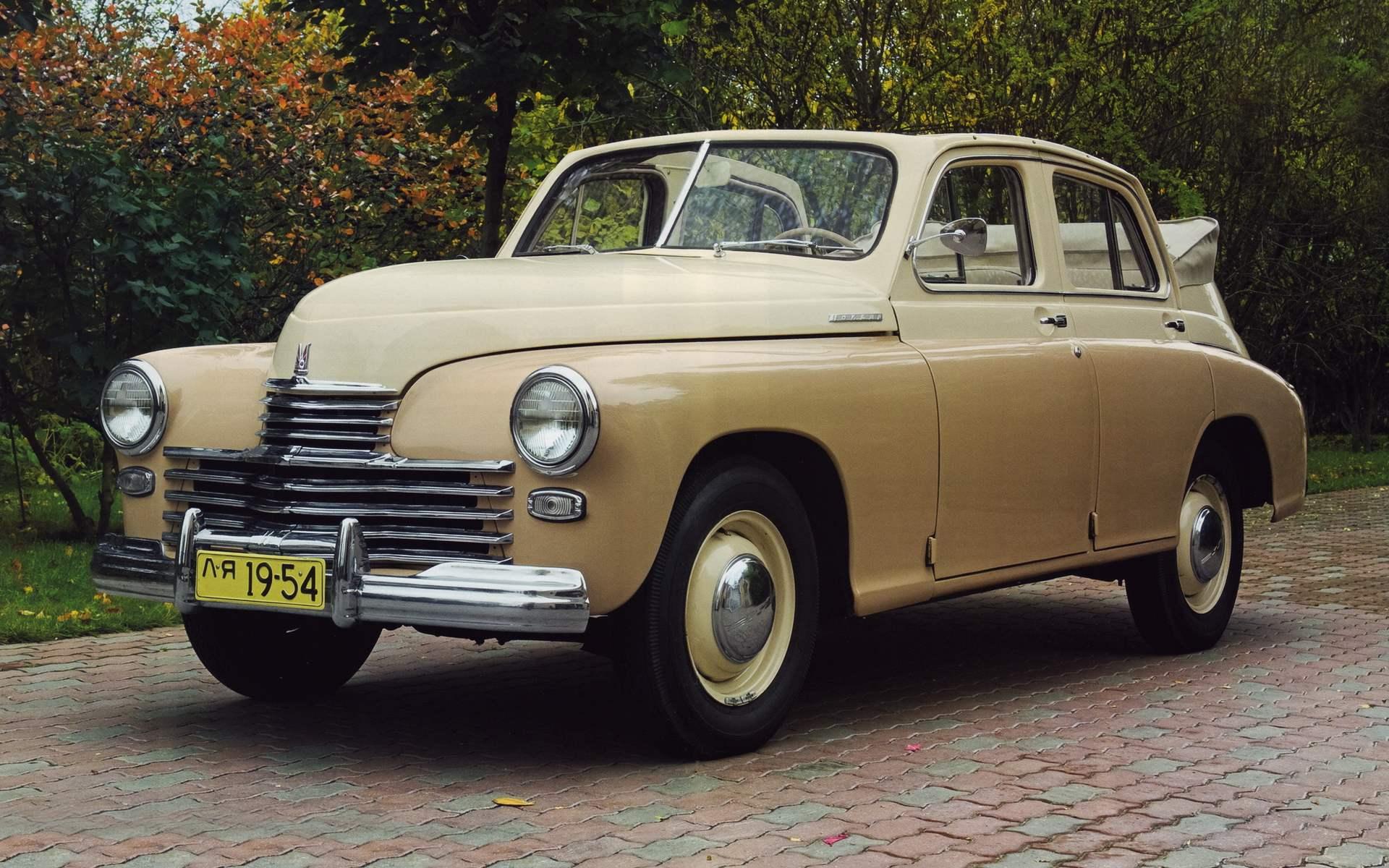 «Победа»-кабриолет со складным тентом (1949—1953)