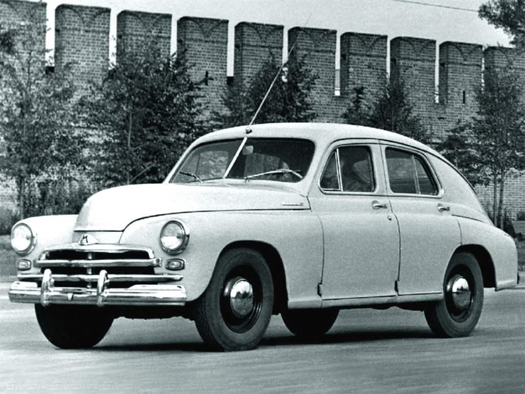 Автомобиль «Победа» ГАЗ-М20В (1955—1957)