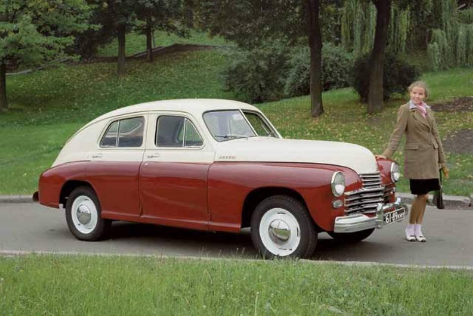Первый послевоенный легковой автомобиль Горьковского автозавода — «Победа» ГАЗ-М20 выпуска 1946 года