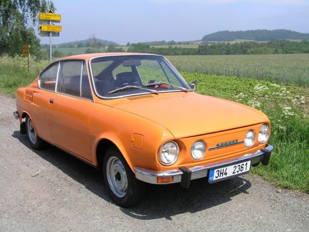 Автомобиль «Шкода-110 Р-купе»