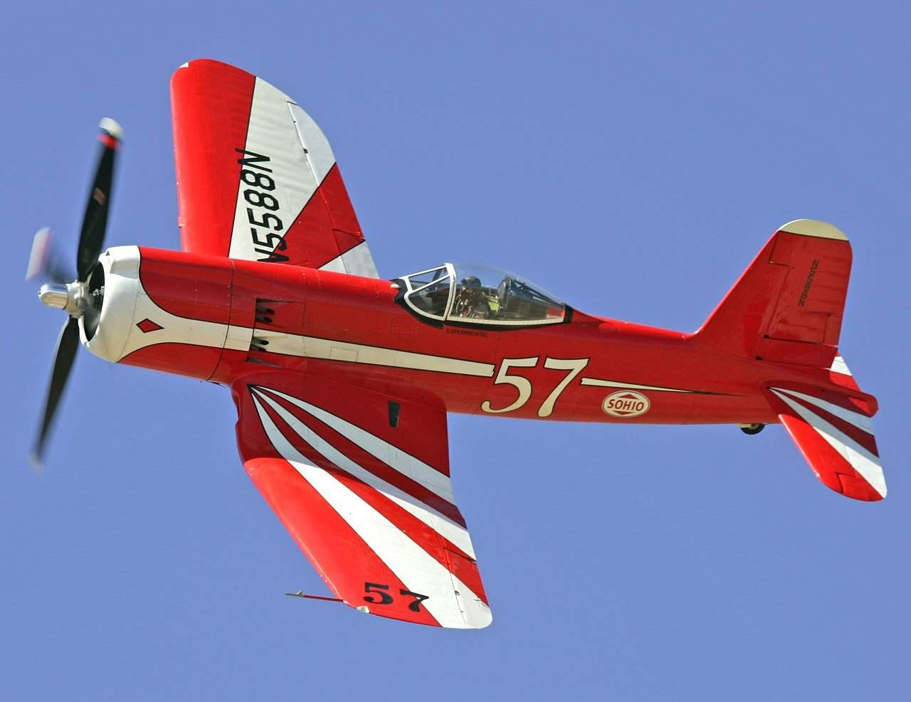 Истребитель F2G-1 № 88458 (гражданский регистрационный номер 5588N)— в настоящее время является единственным летающим истребителем SUPER CORSAIR