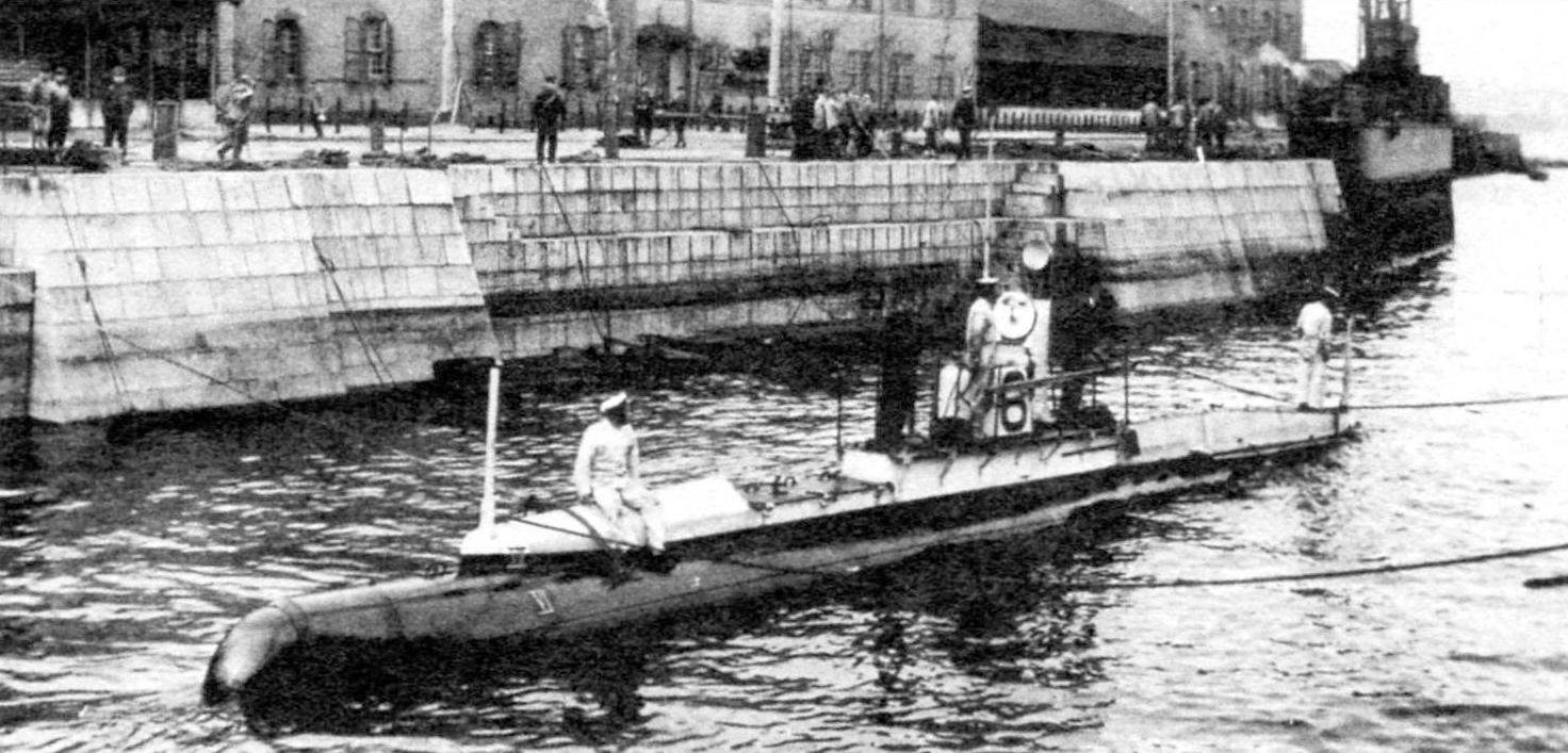 Подводная лодка №6 типа «Холланд-флотский», Япония, 1906 г.