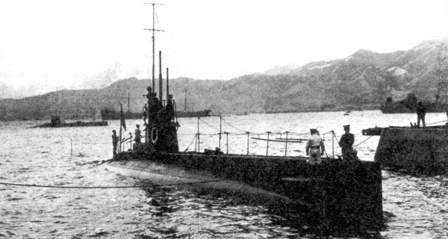 Подводная лодка №10 типа «Виккерс», Япония, 1911 г.