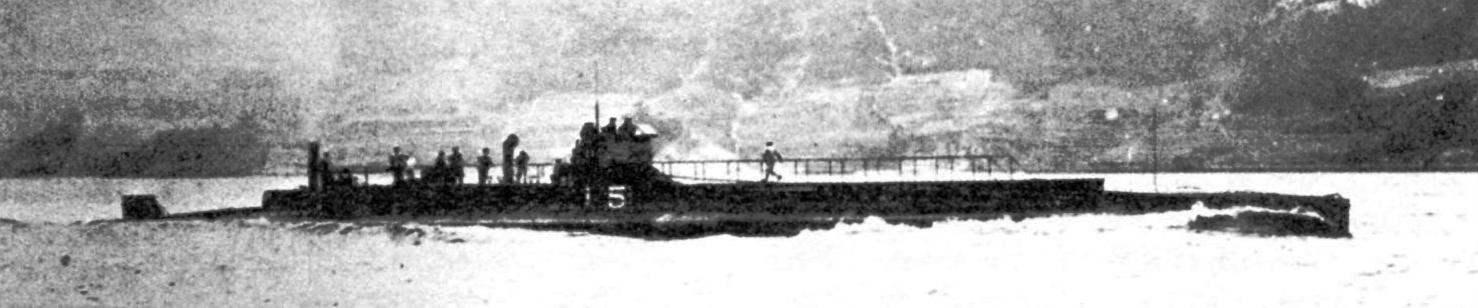 Подводная лодка №15 типа «Шнейдер-Лобёф», Япония , 1917 г.