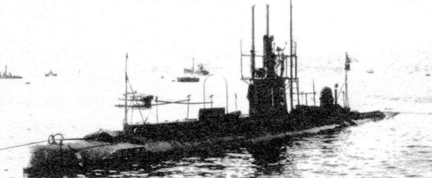 Подводная лодка №13 типа «модифицированный Виккерс», Япония, 1912 г.