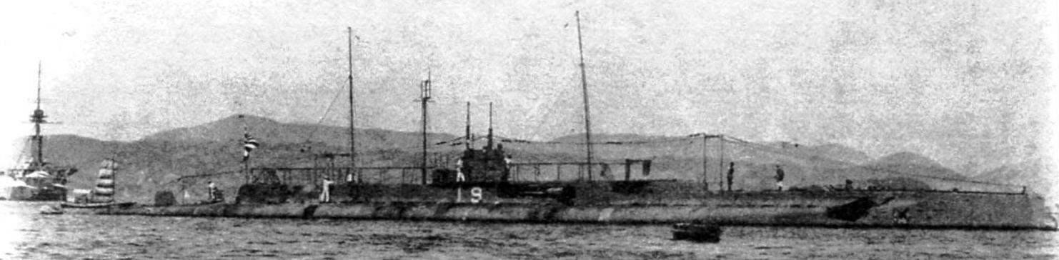Подводная лодка №19 типа «К-1», Япония, 1919 г.