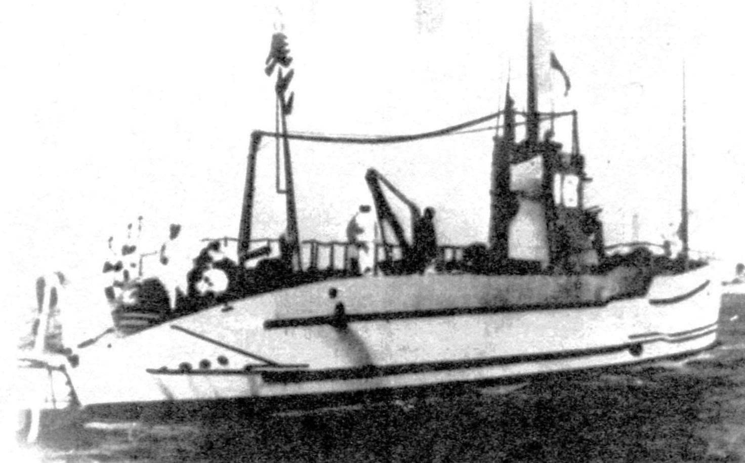 Подводная лодка №18 типа «ФИАТ-Лауренти», Япония, 1920 г.