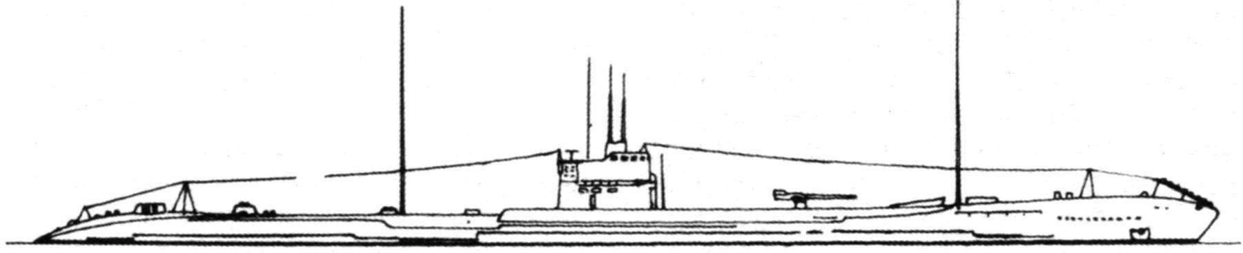 Подводная лодка №51 типа «Кайдай» (KD-2), Япония, 1925 г.