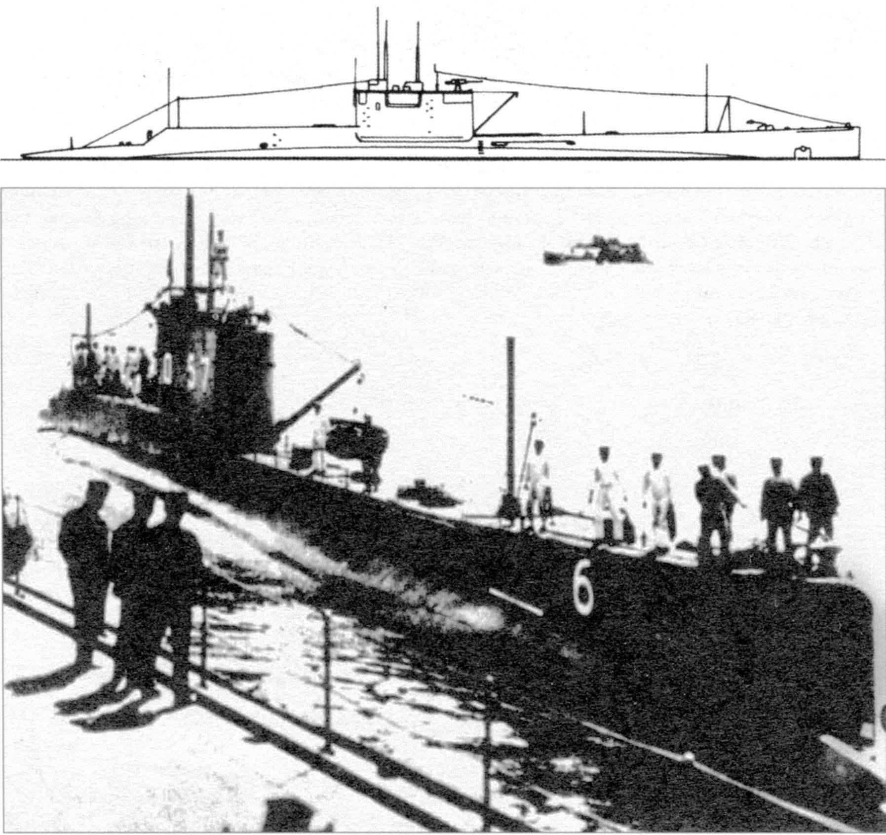 Подводная лодка №46 типа «L-3», Япония, 1922 г.