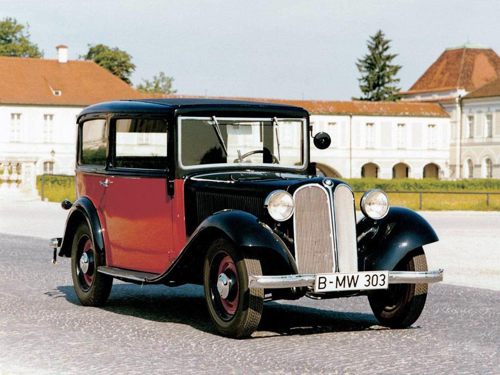 BMW 303 — первый автомобиль, самостоятельно разработанный фирмой Bayerische Motorenwerke (1933 г.)