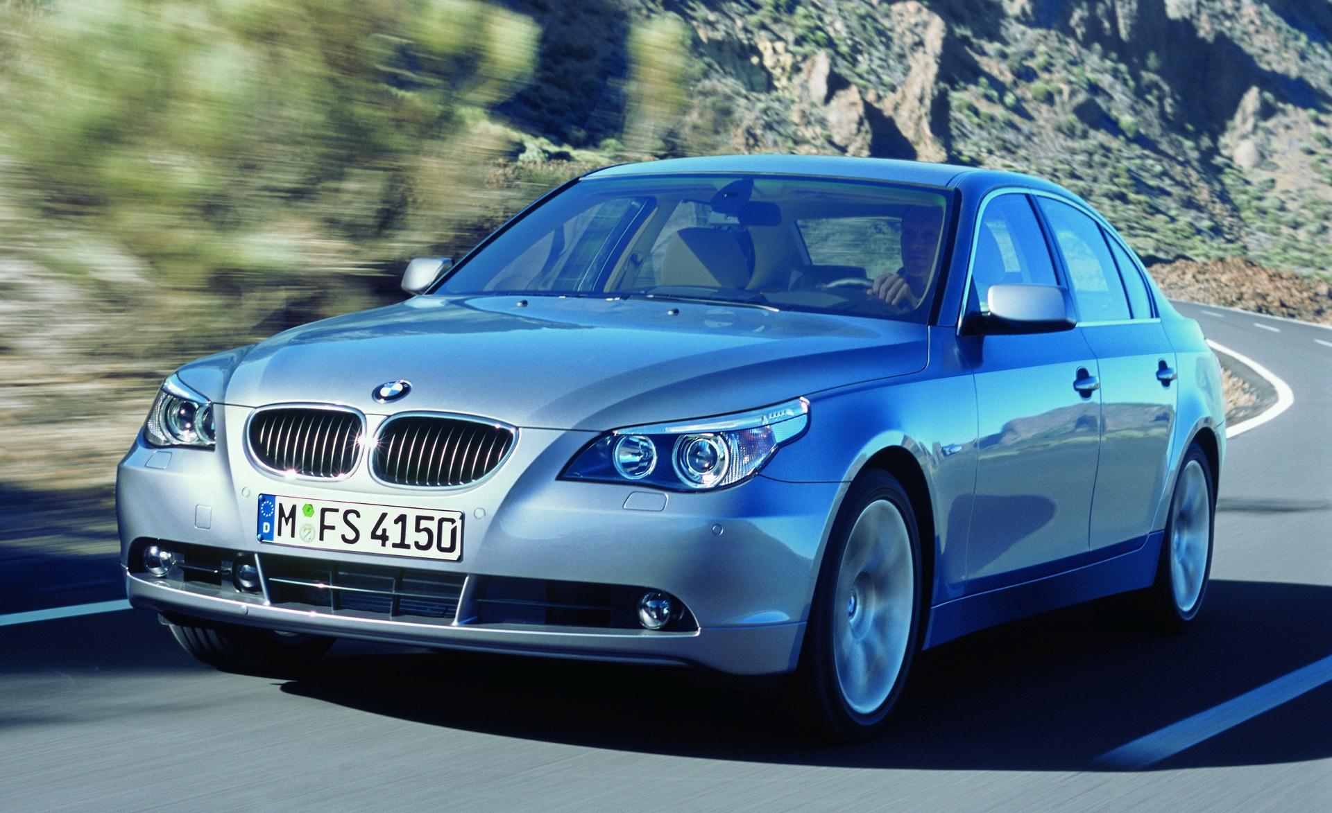 Самая новая «пятерка» — BMW 530i выпуска 2003 года