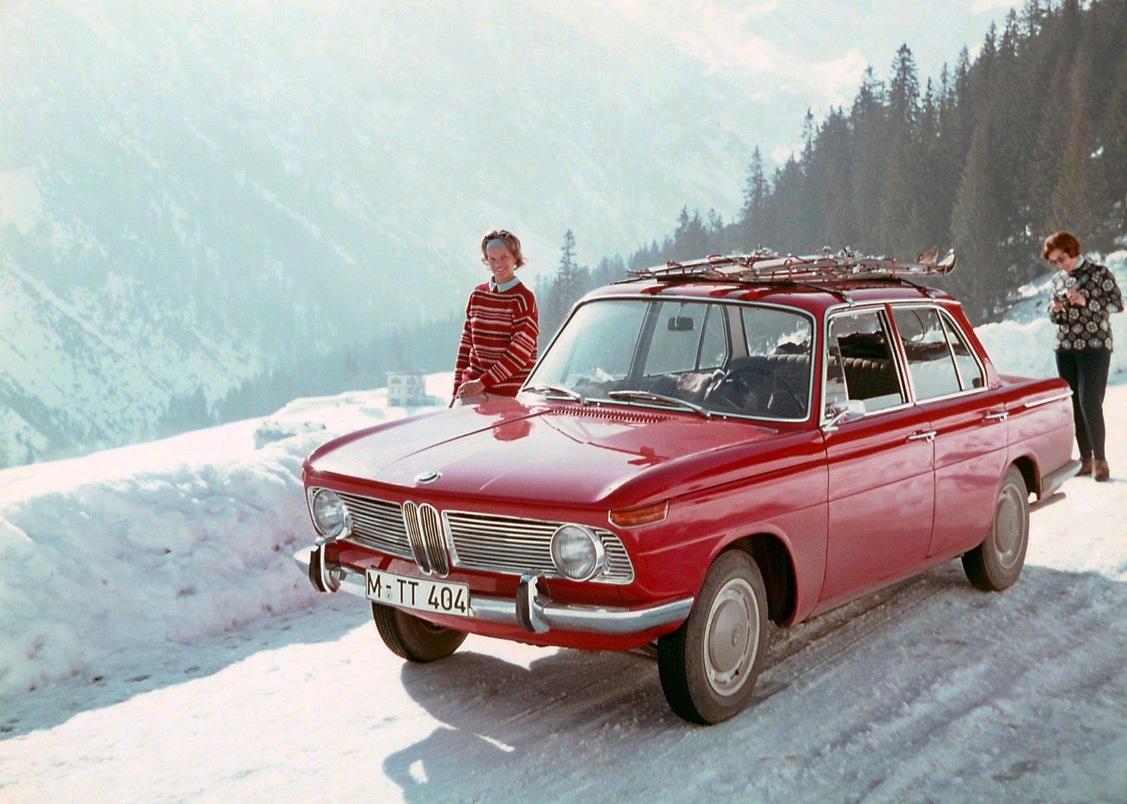 BMW 1500 — компактный седан со спортивным характером (1962 г.)
