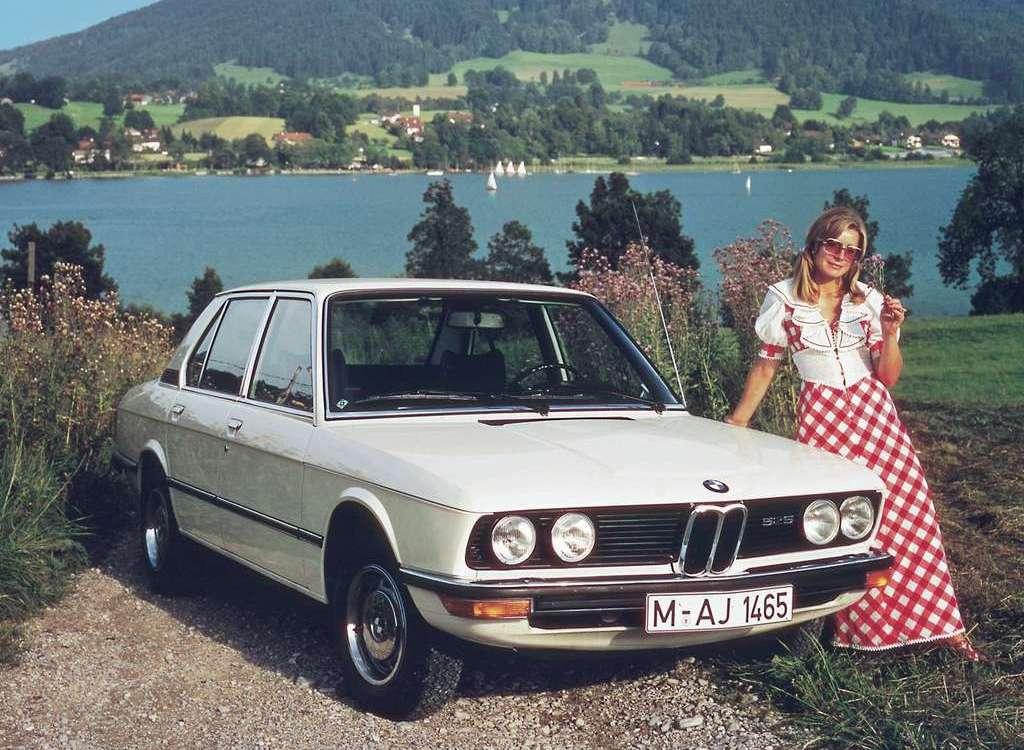 Первая «пятерка» — автомобиль нового бизнес-класса BMW 520 (1972 г.)