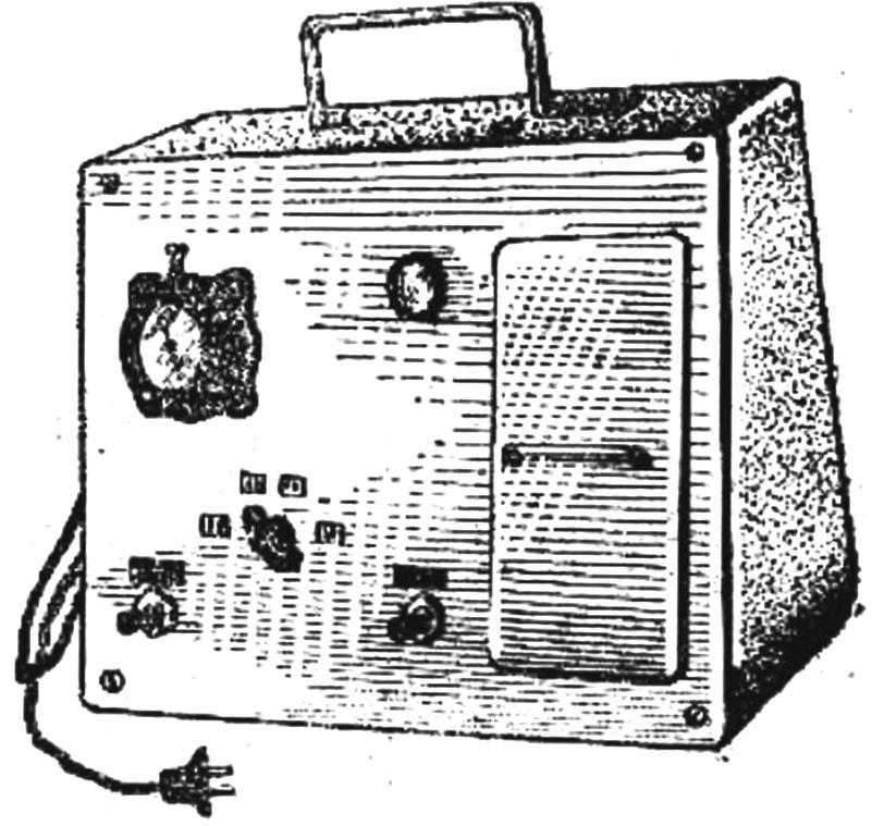 Рис. 1. Внешний вид электронного счетчика семян.