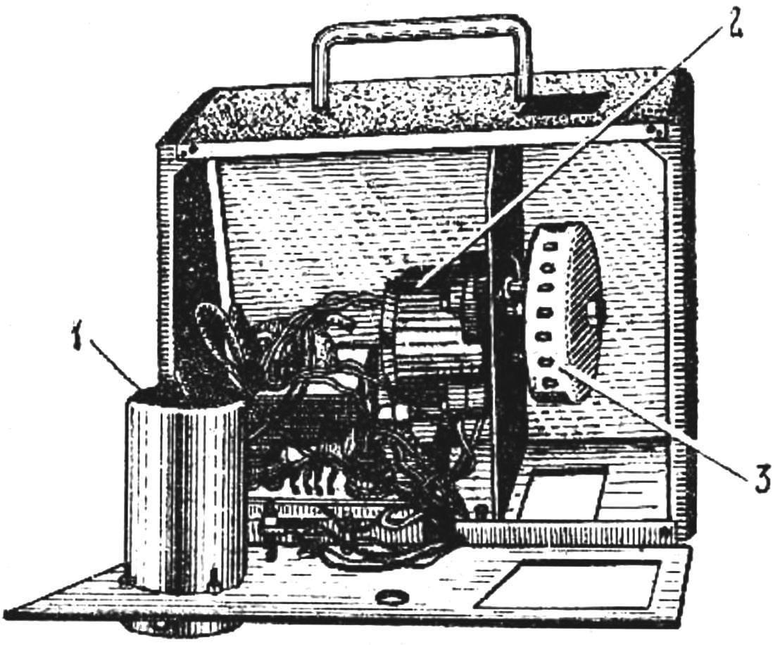 Рис. 2. Внутренний вид прибора