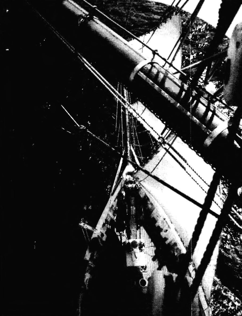 Шхуна «Этуаль». Вид на палубу и камбузную надстройку