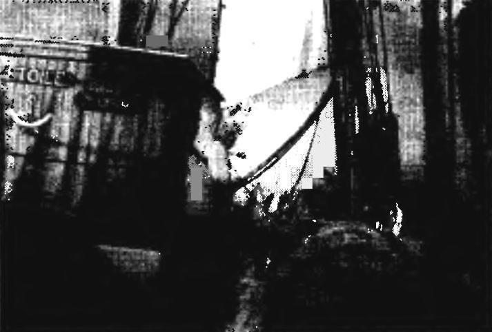 Шхуна «Этуаль». Вид на бак с фор-марса