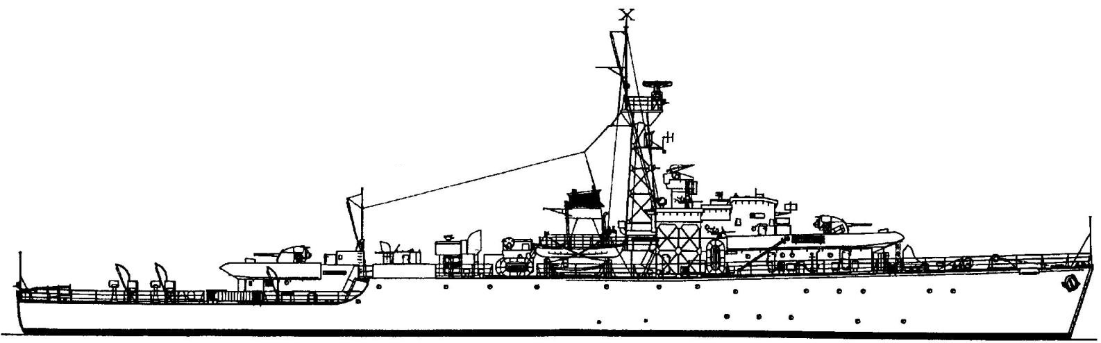 21. Фрегат «Лох Мур», Англия, 1944 г.