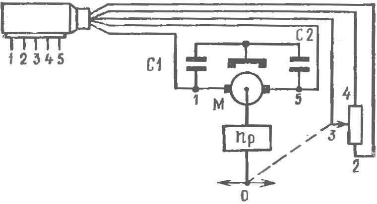 Электрическая схема рулевой