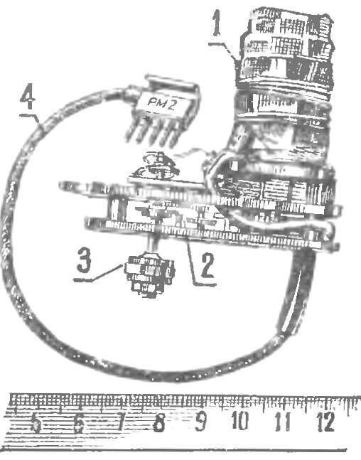 Рис. 8. Внешний вид рулевой машинки