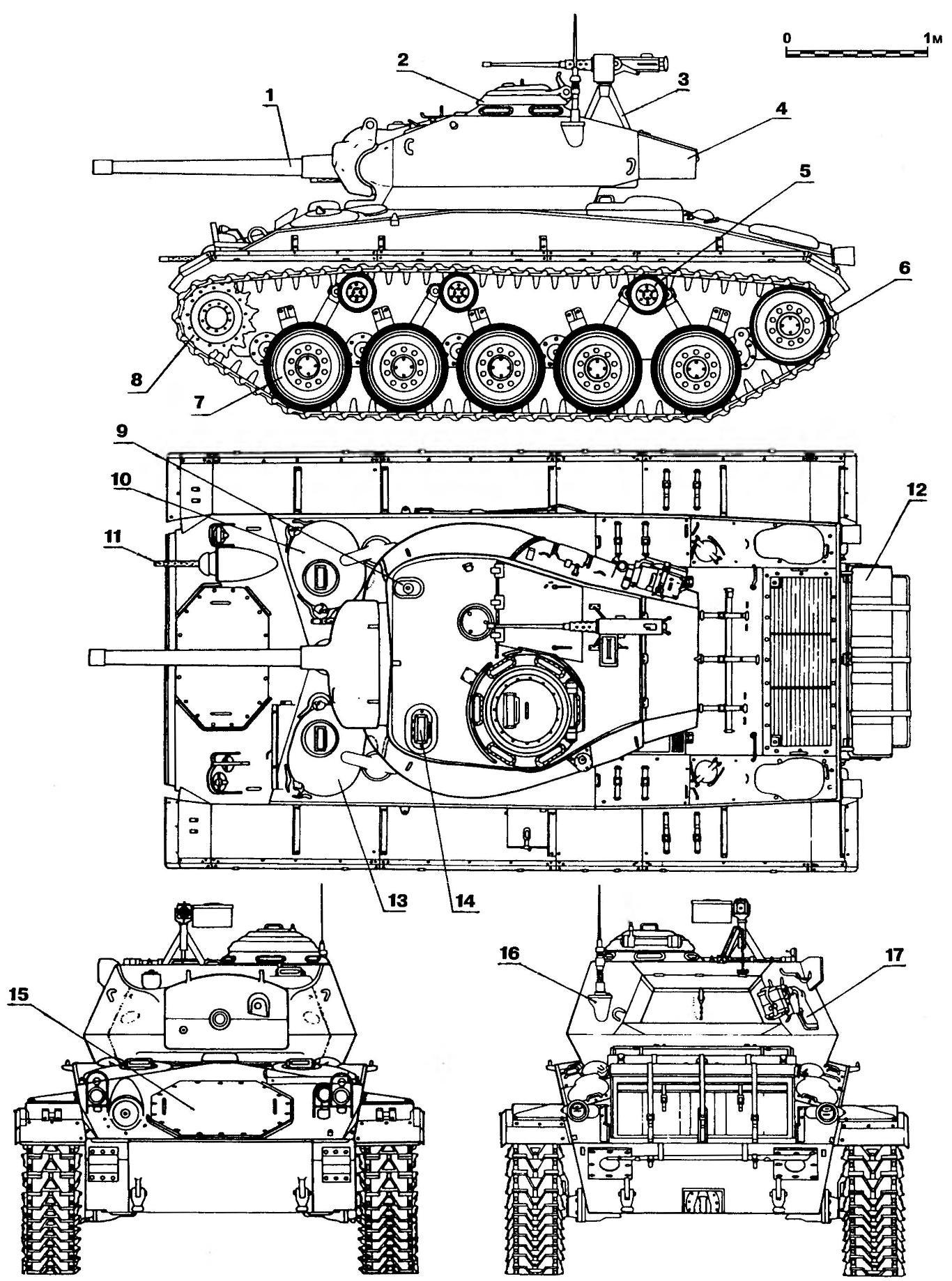 Легкий танк М24