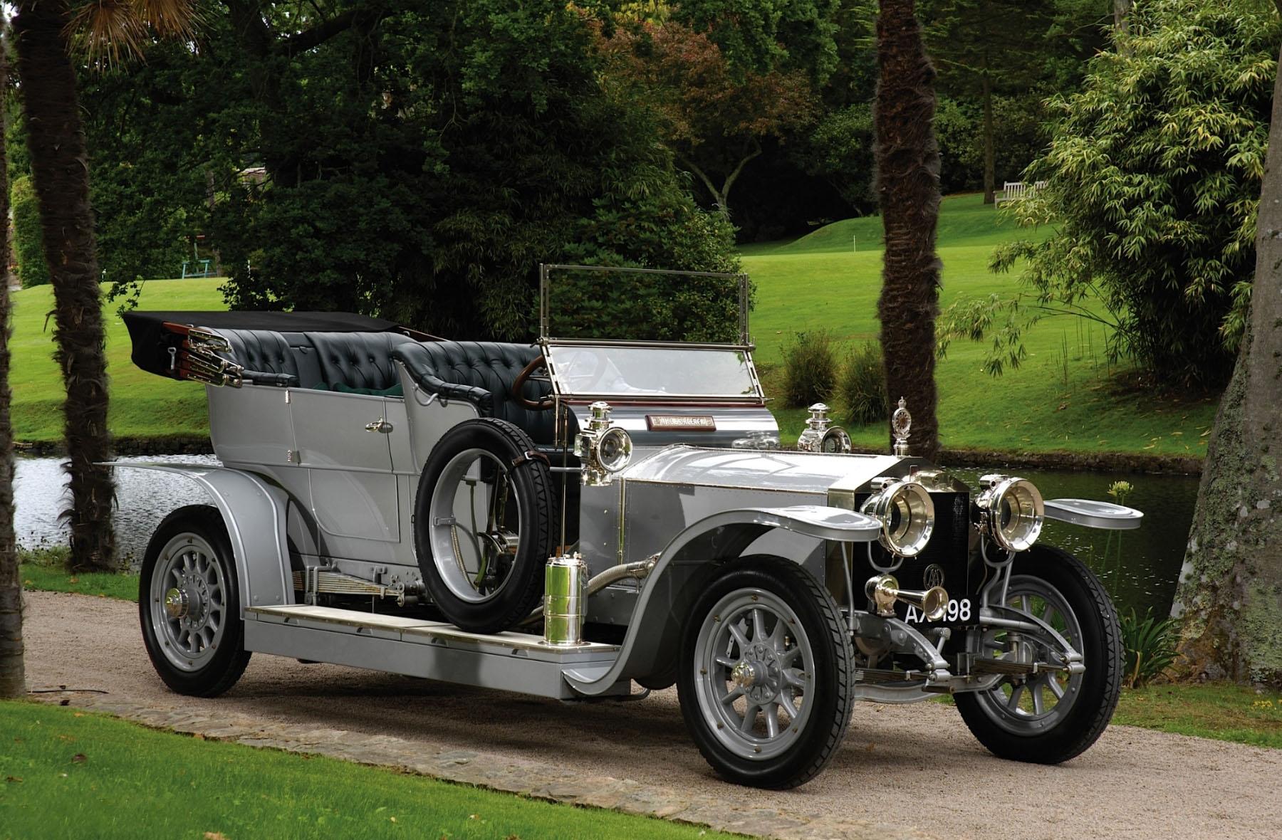 ROLLS-ROYCE 40/50 HP SILVER GHOST — один из самых надежных и комфортабельных автомобилей первой трети XX века