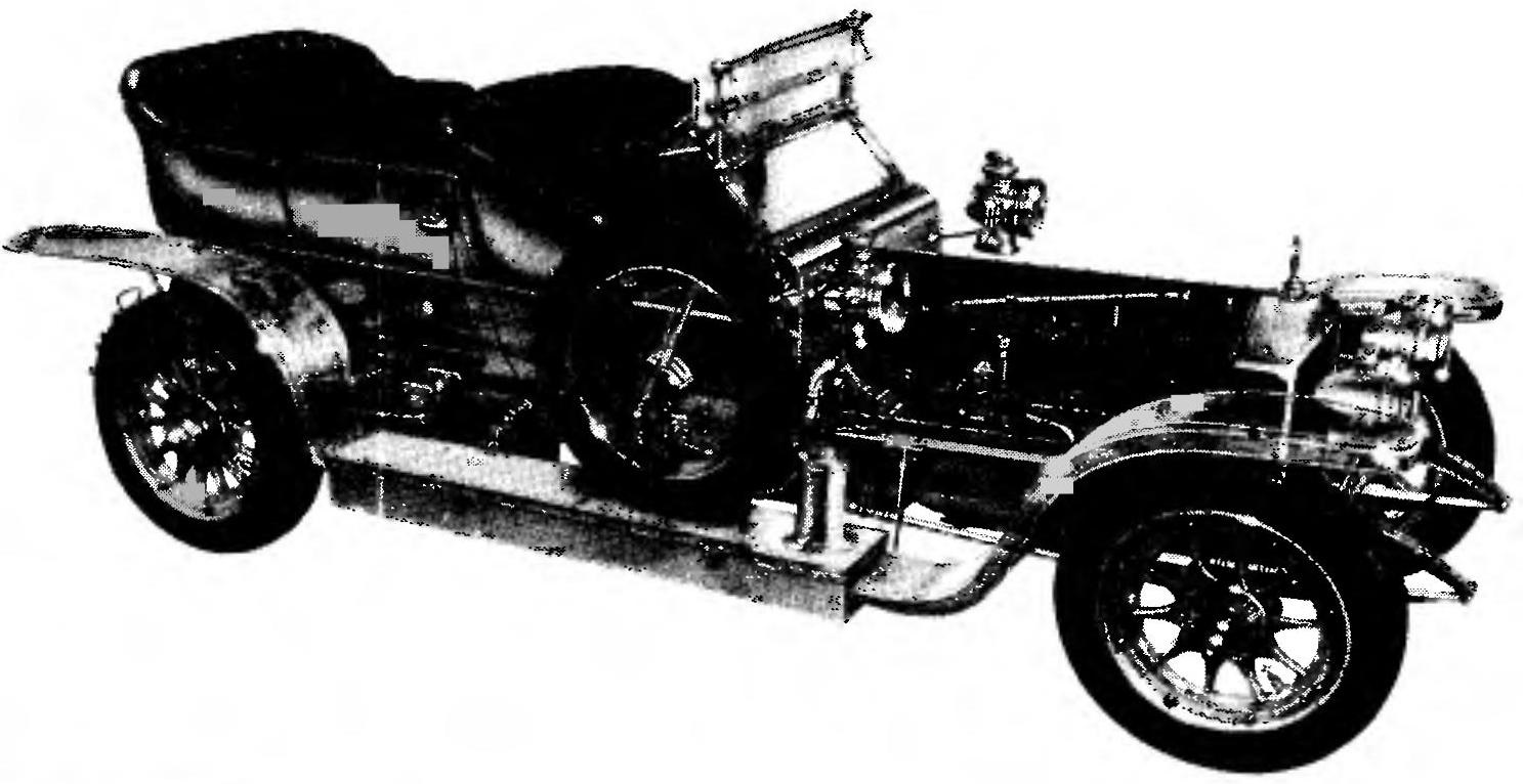 Design of the ROLLS-ROYCE 40/50 HP SILVER GHOST