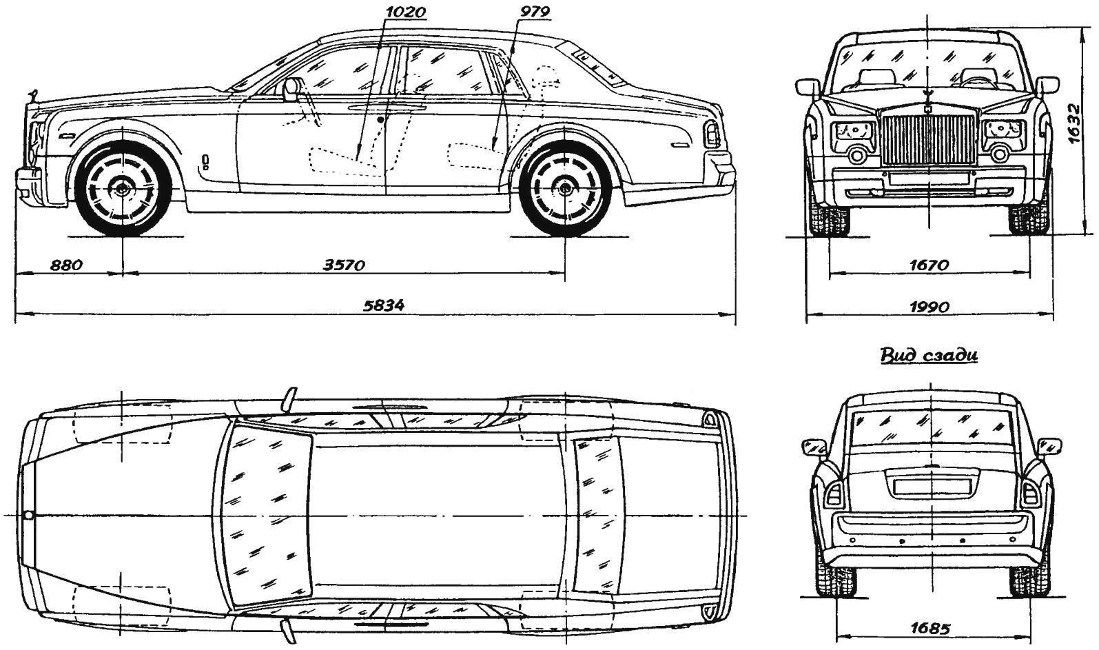 ROLLS-ROYCE PHANTOM 2003 года — первый «роллс-ройс», выпущенный фирмой BMW