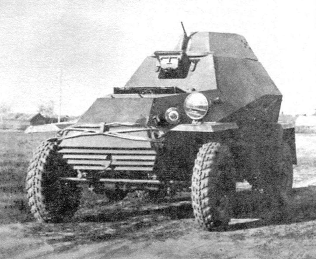 Бронеавтомобиль БА-64 на шасси ГАЗ-64