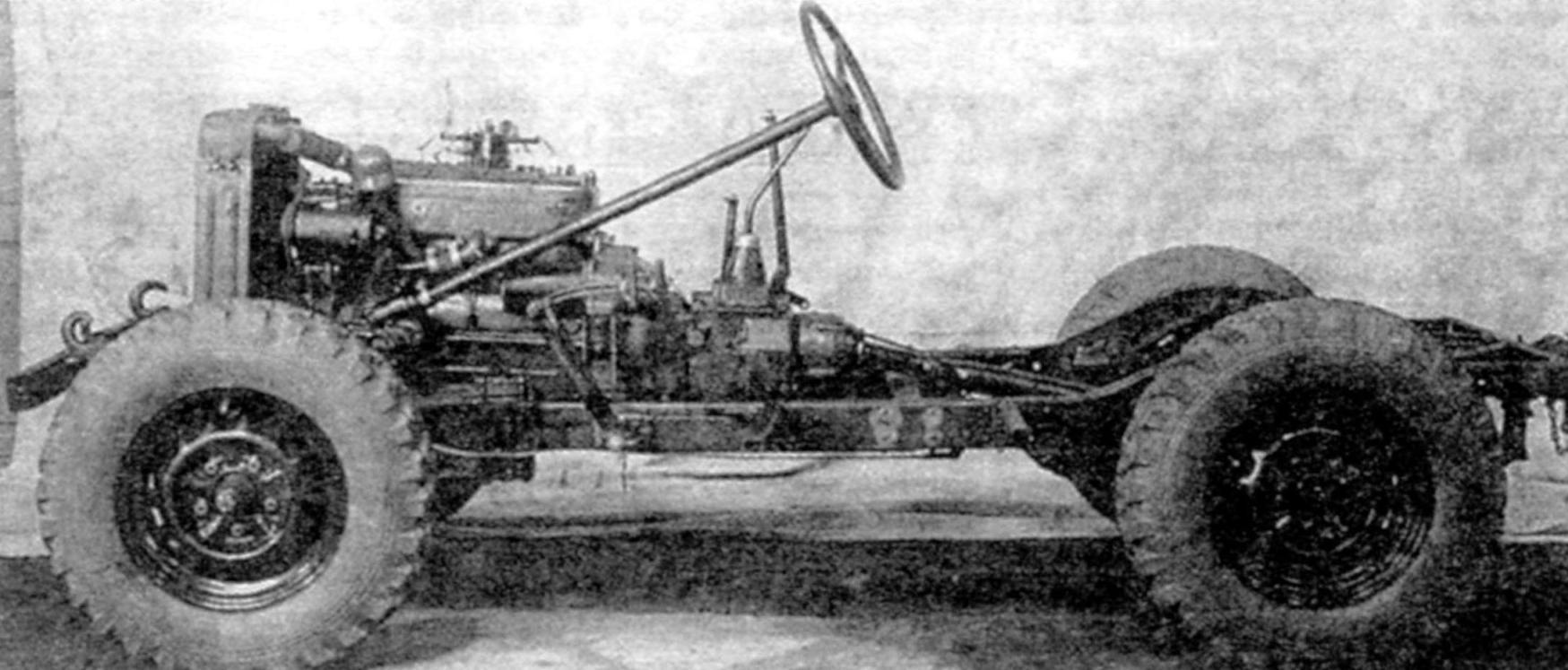 Шасси ГАЗ-64
