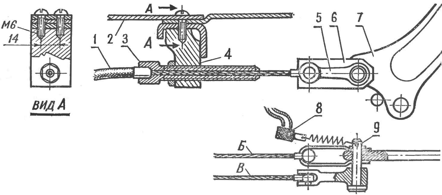 Рис. 6. Схема подключения тормоза