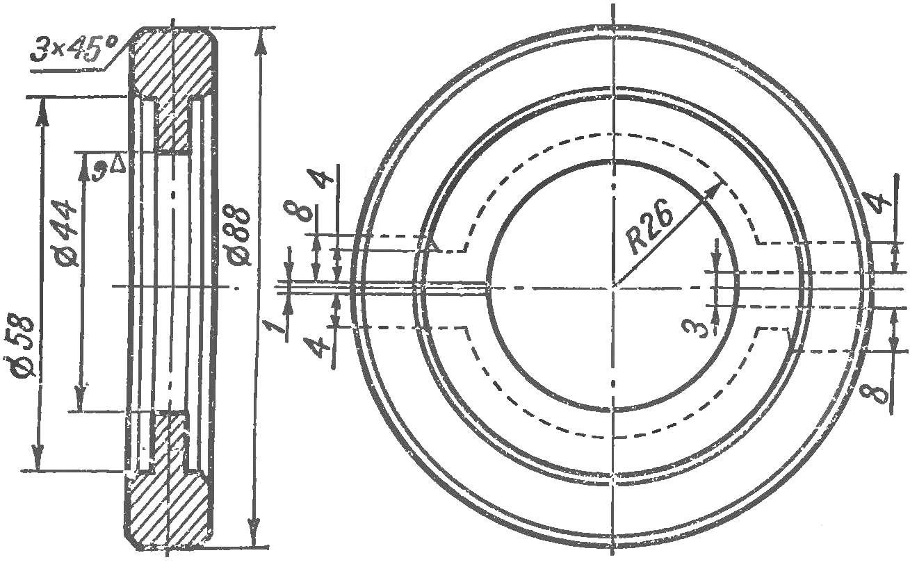 Fig. 8. The workpiece for the manufacture of crackers damper