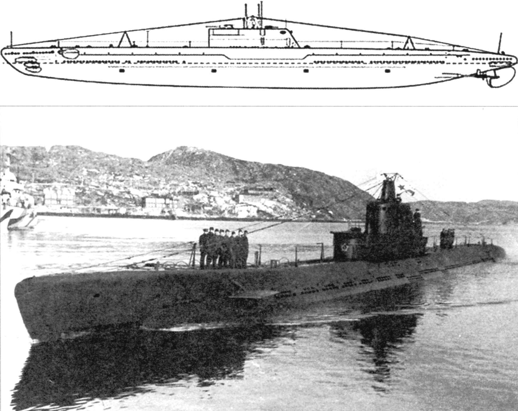 Подводная лодка «Д-1» («Декабрист»), 1-я серия, СССР, 1930 г.